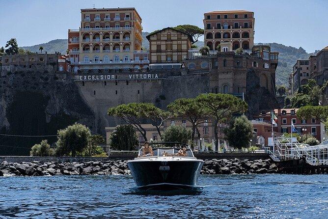 Capri boat transfer from Sorrento