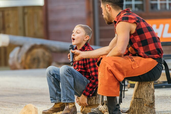 Paula Deen's Lumberjack Feud Show Admission Ticket