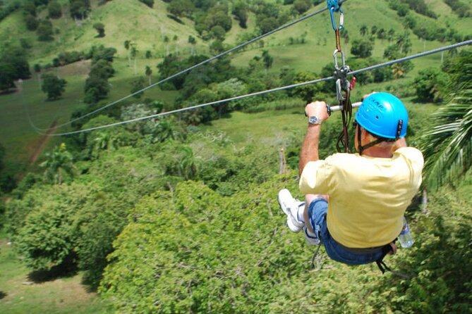 Shore Excursion: Glide N' Ride - Zip Lines & Horseback riding
