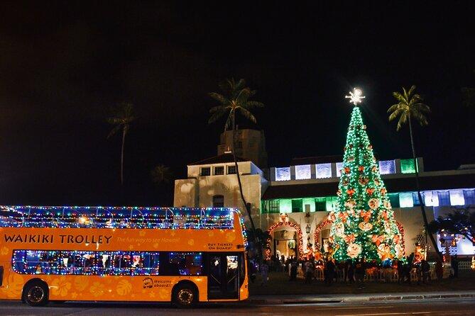Waikiki Trolley Holiday Lights Tour