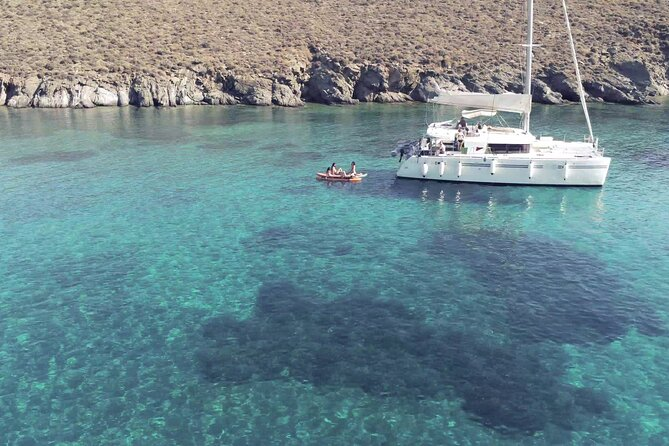 7-Day Luxury Catamaran Tour from Athens to 5 Greek Islands