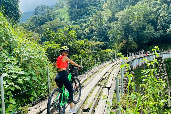 Mountain Bike Tour with Coffee Tasting in Antioquia's Beautiful Landscapes
