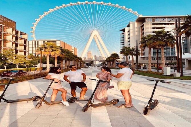 ⭐⭐⭐⭐⭐ The E-scooter Experience : Dubai Coolest City Tour