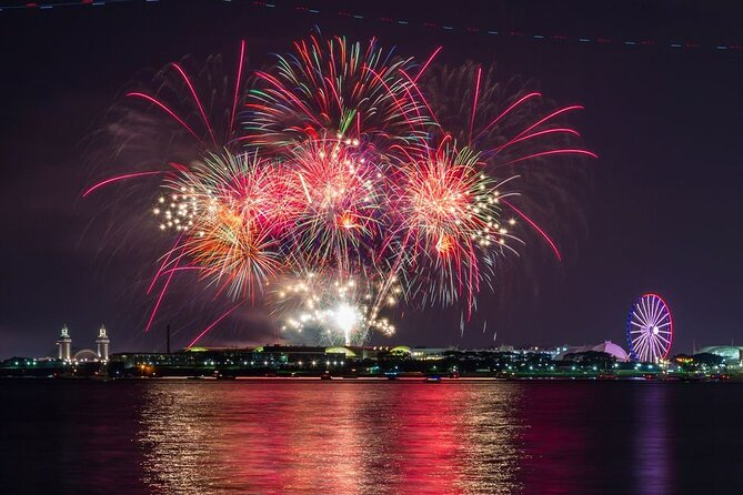 Lakefront Fireworks Cruise in Chicago