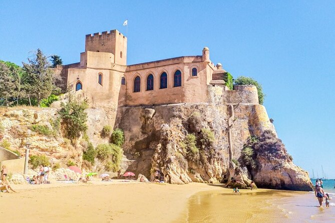 Portimão Private Boat Tour Caves Circuit and Coast Sightseeing