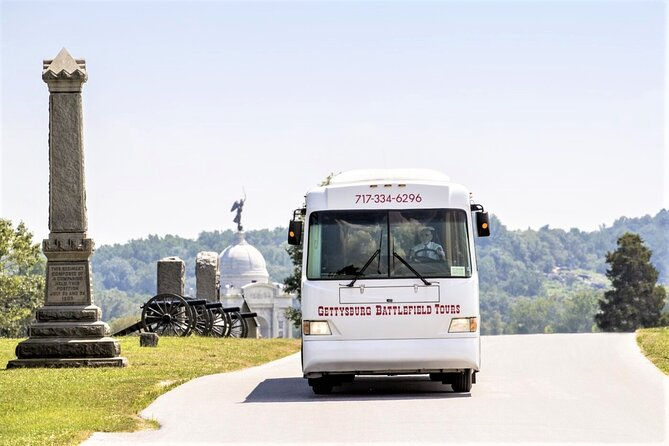 2-Hour Gettysburg Battlefield Guided History Bus Tour with a National Park Guide