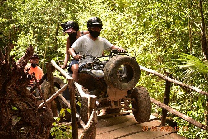 Amazing ATV (shared) Experience & Zipline