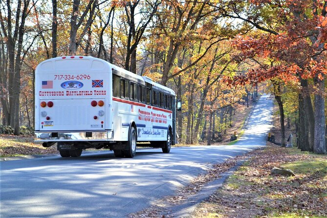 Gettysburg Battlefield Guided History Bus Tour with a National Park Guide