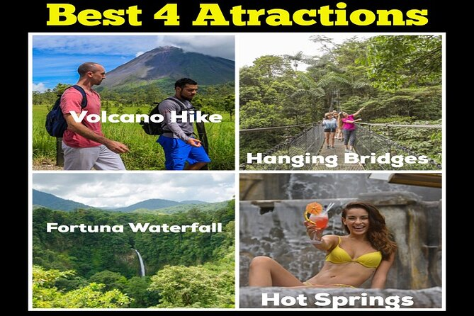 Arenal Best 4 Attractions