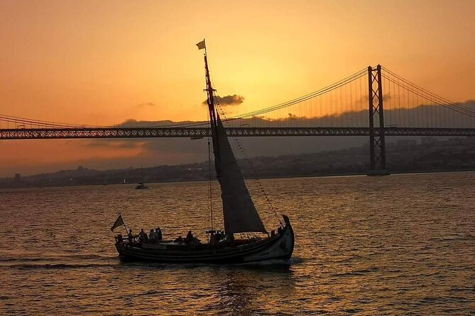 River Tagus Sunset Cruise in Lisbon