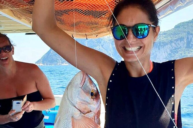 Full-Day Fishing Tour in Capri with Lunch from Sorrento