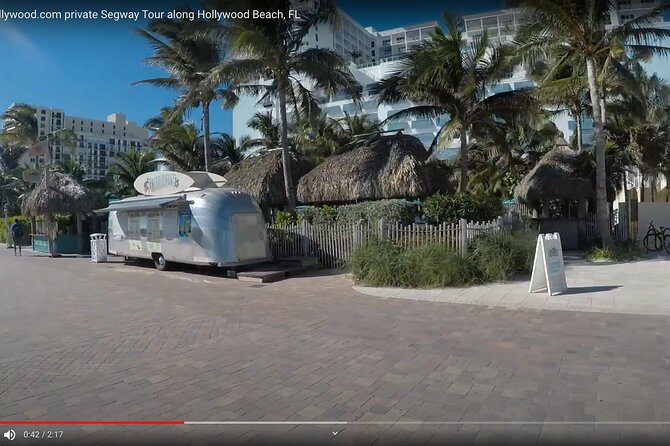 Private Segway Tours along Hollywood Beach's Broadwalk
