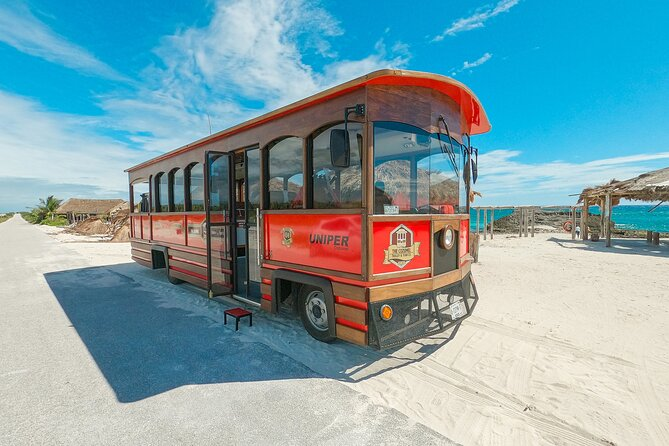 Punta Sur & Beach Experience by Classic Trolley