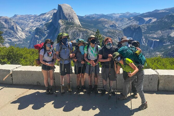 5 Day Yosemite Backpacking - Three Summits