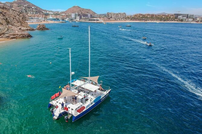 Private Boat Snorkeling all included in Cabo San Lucas 3 hours