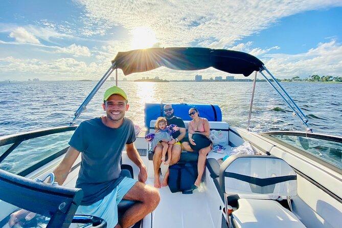 3-hour tour with Aquarius Boat Rental