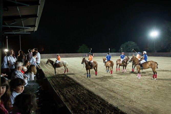 Polo night under the stars