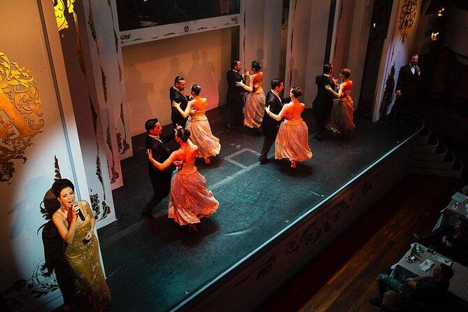 Tango show at Cafe de los Angelitos with optional dinner