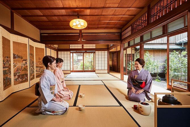 PRIVATE Experience Tea Ceremony wearing a Kimono in Kyoto MAIKOYA