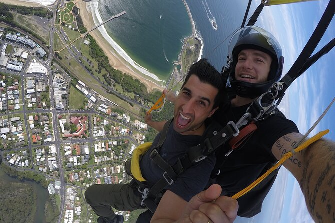 Coffs Harbour Ground Rush or Max Freefall Tandem Skydive on the Beach