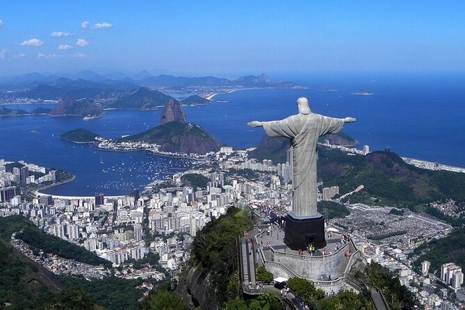 Full-Day Christ the Redeemer and Rio City Tour from Buzios