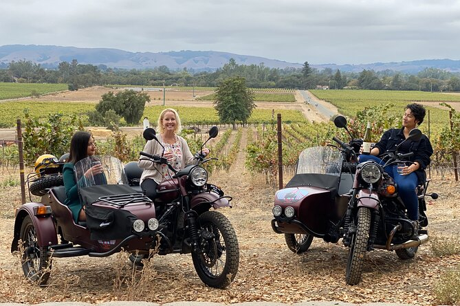 Sidecar Sonoma Valley Wine tours
