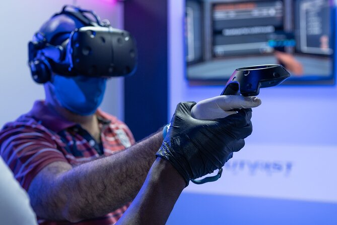 Virtual Zone - Virtual reality experience in Brussels - Futurist Games