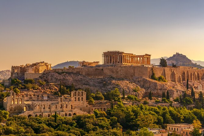 Athens Full Day 8 Hours Private Tour.