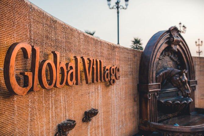 Memorable Evening at Dubai Global Village with Dubai Miracle Garden Visit !!