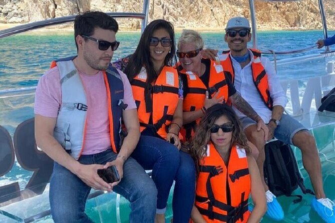 Cabo's Only Clear Boat Tour! Tour the Arch, Divorce Beach, Lover's Beach & more!
