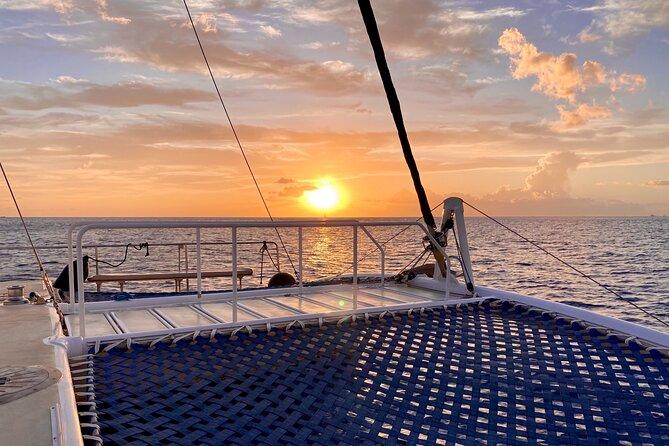 Moana's Sunset Sailing along Oahu's Waikiki Coast