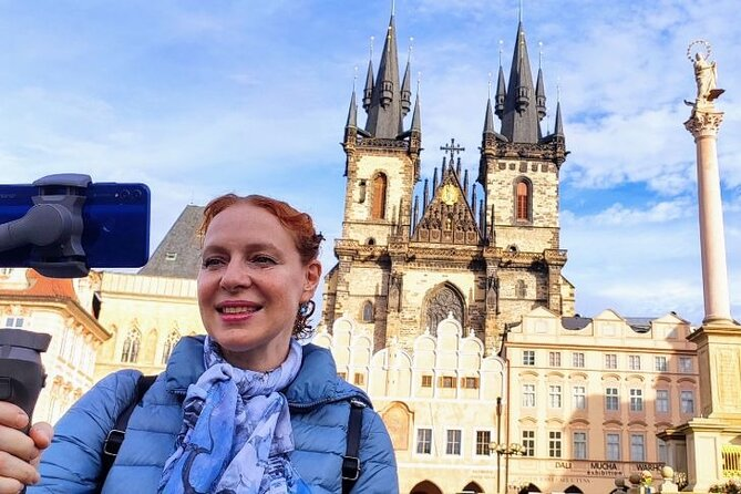 Live Stream Tour of Prague's Charles Bridge and Old Town