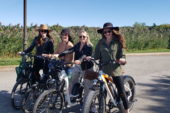 eBike Tour of NOTL with Wine Tasting and Lunch