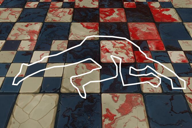 Virtual Guided Tour of the Crime Scenes of Brussels