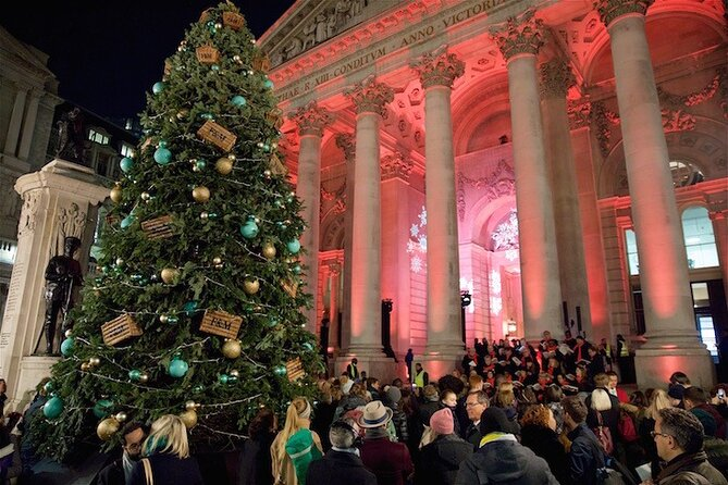 Christmas Lights Walking Tour in London