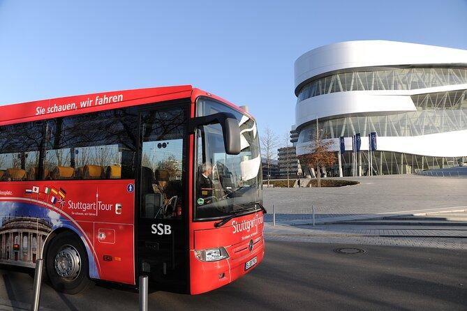 Stuttgart Hop On Hop Off 24h single ticket - Blue Route