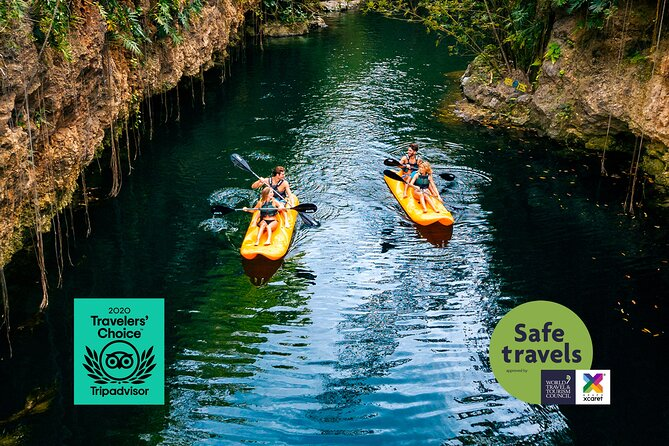 Tour Cenotes Oasis Maya by Xcaret from Cancún and Playa del Carmen
