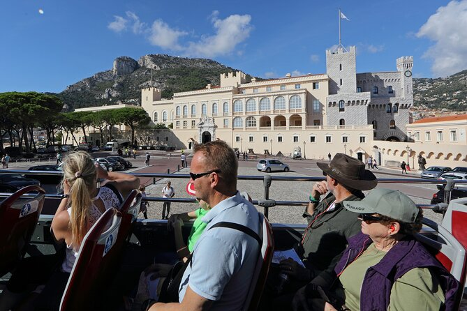 Monaco Hop on Hop Off Sightseeing Bus Tour