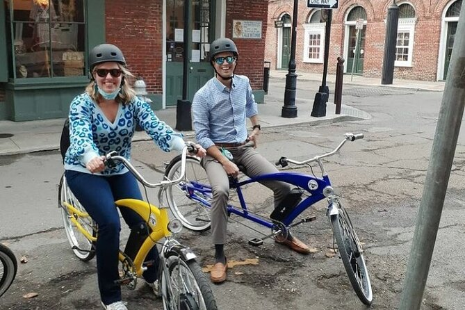 Sightseeing Bike Tour from French Quarter to City Park