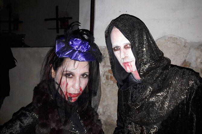 Halloween at Bran Castle from Brasov ,Octomber 30 , 2021