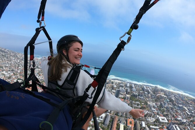 Happiness is Paragliding over Cape Town