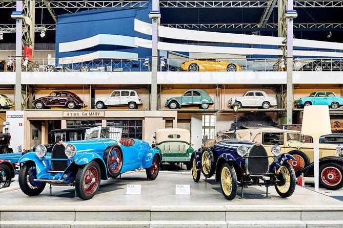 Brussels Autoworld Museum Entrance Ticket