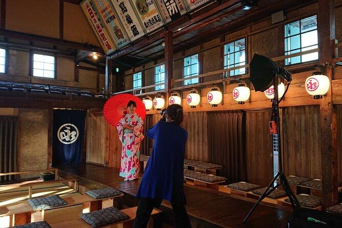 """""""Izushi Eirakukan"""" Kimono Photo Session Local Tour & Guide"""