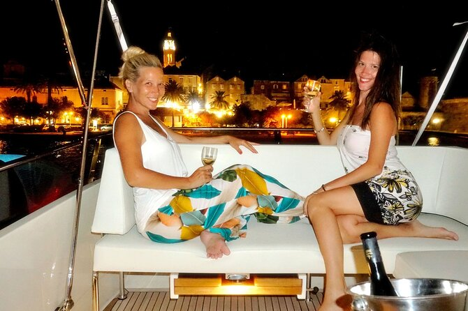 Korčula Island Private Yacht Cruise Including Wine Tasting and Dinner