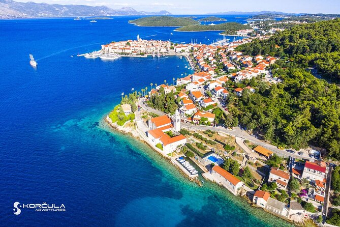 Korcula Island Private Sightseeing Tour Including Wine Tasting
