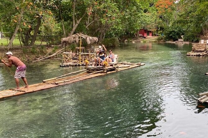 Private Fern Gully,Bamboo Rafting and Beach From Ocho Rios