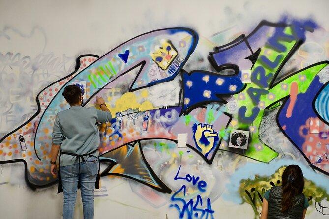 Chicago Spray Paint 'n' Sip at Studio W.I.P.- BYOB