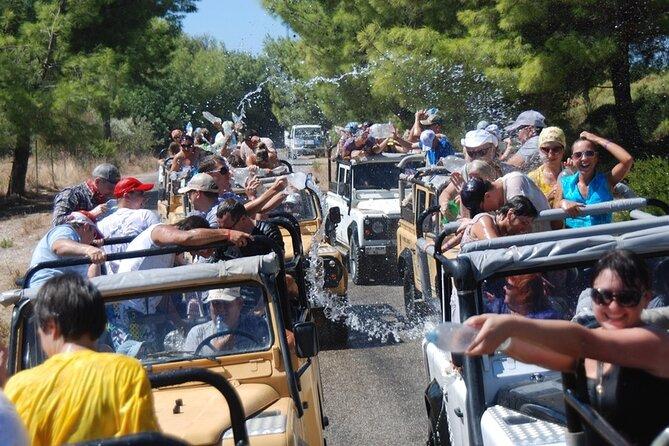 Jeep Safari and River Rafting at Koprulu Canyon
