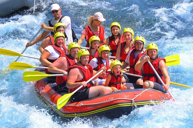 Whitewater Rafting at Koprulu Canyon Antalya
