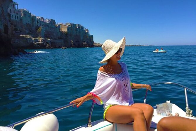 The Sea Caves of Polignano a Mare by Boat